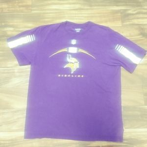 NFL Reebok vikings shirt xl purple